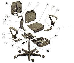 Sermanrep reparaci n mantenimiento del mobiliario de - Cadires oficina ...